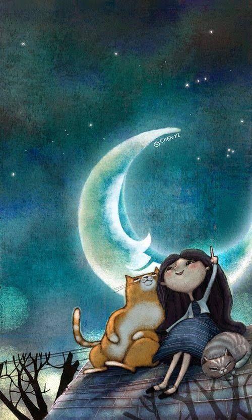 Quanno me godo da la loggia mia quele sere d'agosto tanto belle ch'er celo troppo carico de stelle se pija er lusso de buttalle via, ad ognuna che casca penso spesso a le speranze che se porta appresso. ( Trilussa)