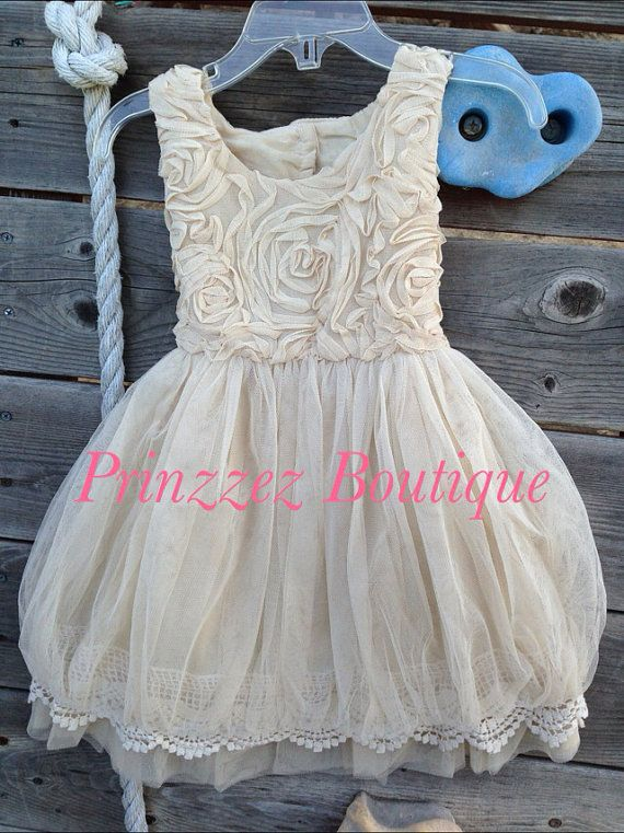 Ebay Vintage Flower Girl Dress