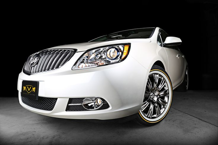 Lincoln Town Car 2016 >> This is a Buick Verano with VT372 Custom Vogue Wheels and ...