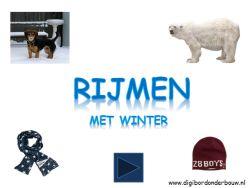 Powerpoint Downloads - Rijmen in de winter