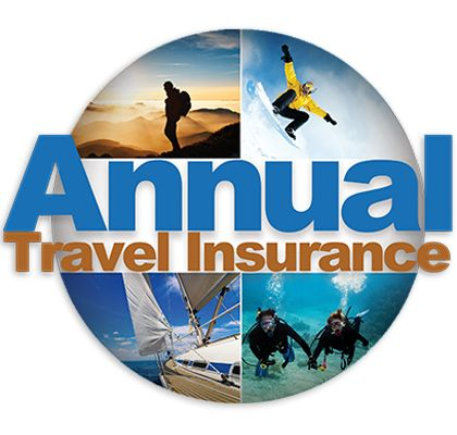DAN Annual Travel Insurance — Multi-Trip Insurance, Trip Cancellation, Medical and Dental, Baggage Coverage, Emergency Assistance