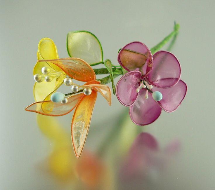 Flores de gelatina.