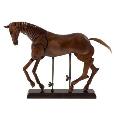 Artist's Wooden Horse Model