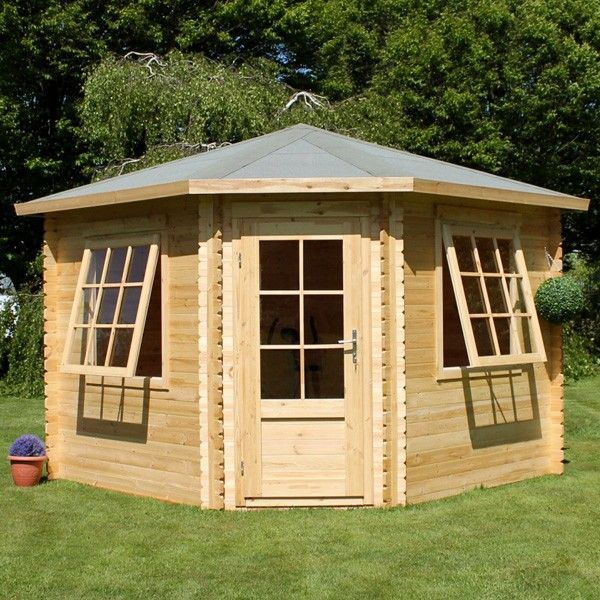 Garden Sheds 5m X 3m best 10+ corner log cabins ideas on pinterest | small log cabin