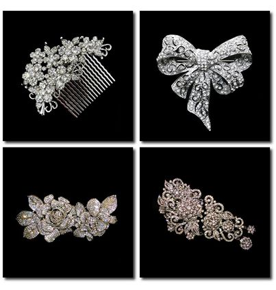 Style your hair neatly with these charming Bridal headpieces!! Which one did you like?