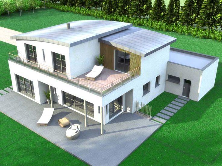 Connu 344 best Modèles et plans de maison images on Pinterest  FV43