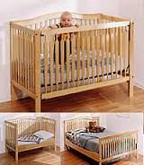 Image result for wooden baby crib plans