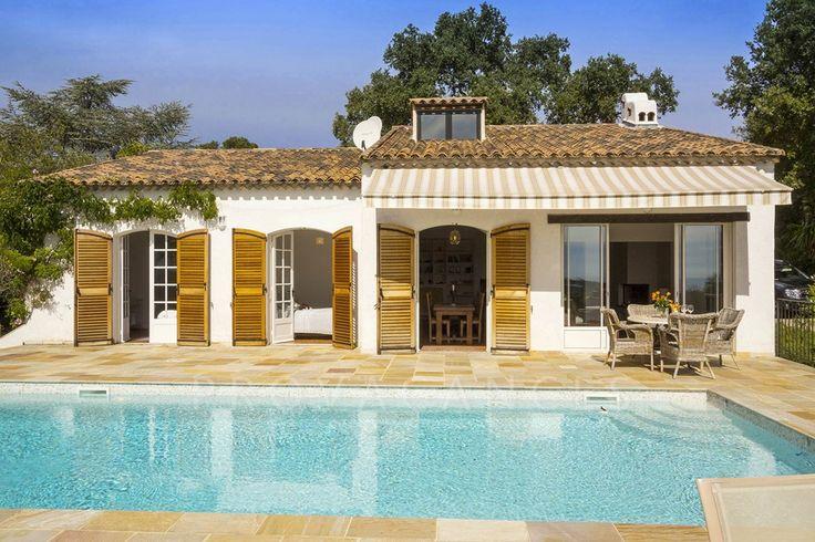 Ferie Sør-Frankrike Provence Biot Nice Antibes utsikt over Mid...
