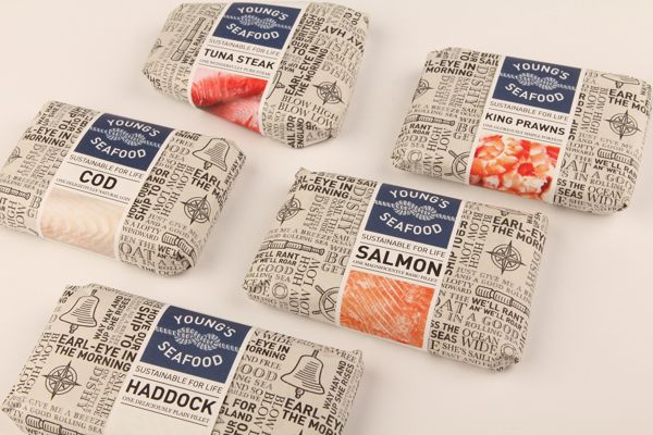 Young Seafood on Packaging of the World - Creative Package Design Gallery