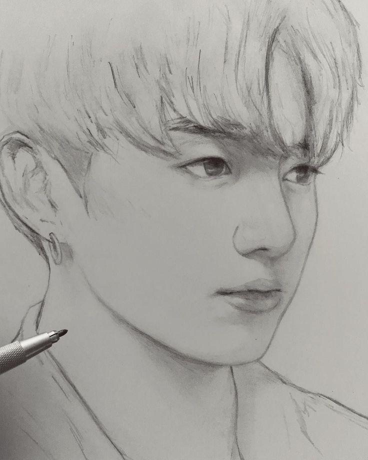 Rσʂҽαɳɳҽ αɳԃ Hҽɾ Lσʋҽɾ in 2020 | Kpop drawings, Bts ...