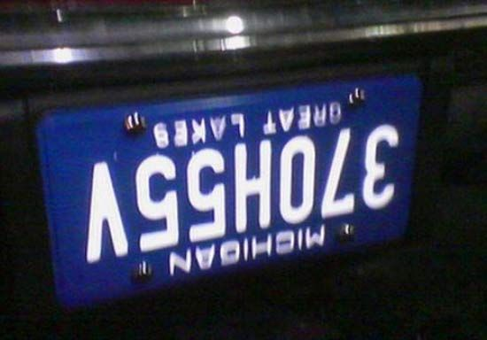 36 Dirty, Funny License Plates