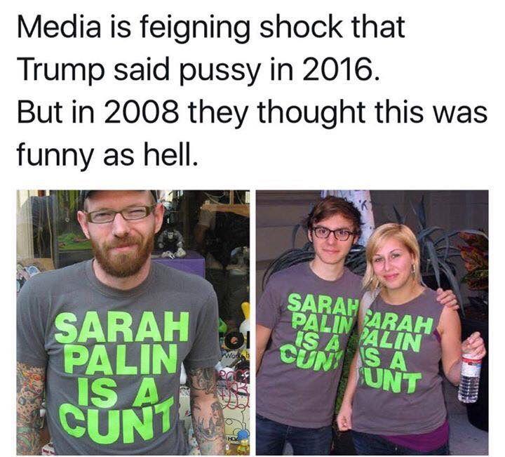 Trump, Palin