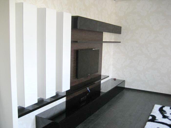 Фотокаталог мебели. Коллекция 15. Отделка фасадов , мебели и шкафов окрашенными плитами МДФ.