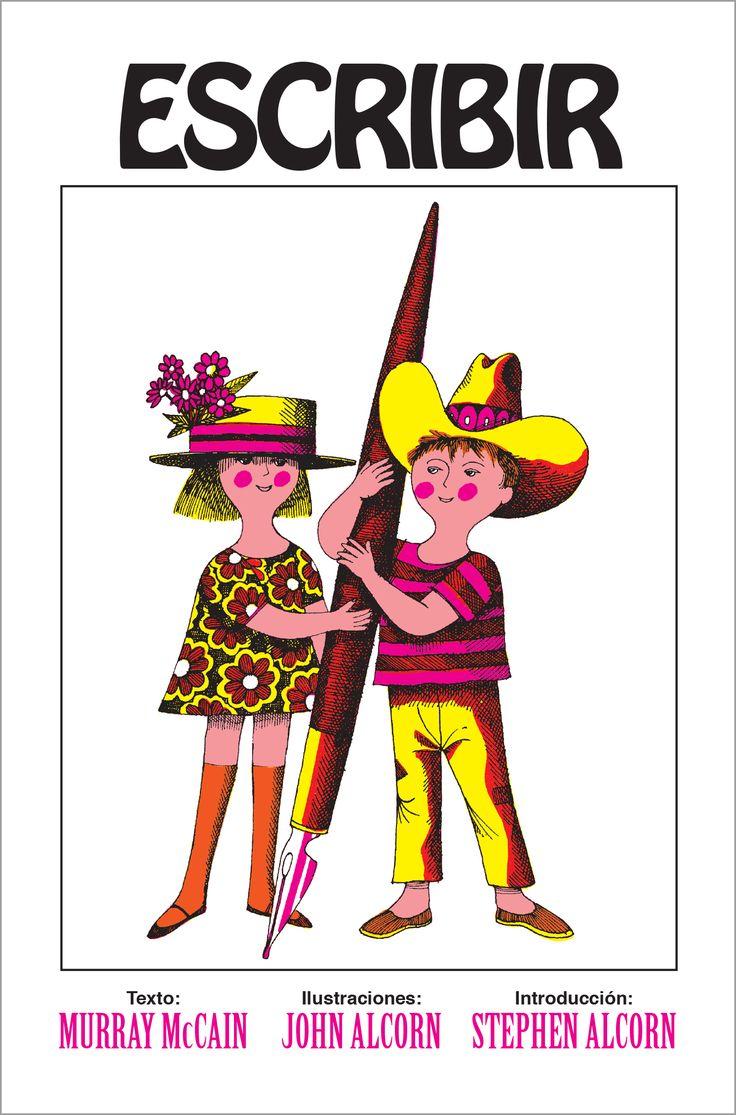 """""""Escribir"""" es una imaginativa reflexión sobre el proceso de escritura y sus aspectos físicos y sociales, la pluma de Murray McCain y el trabajo artesanal de ilustración y diseño de John Alcorn ejercen, al igual que su antecesor ¡Libros!, un poder de fascinación en plena era digital sobre el lector de cualquier edad.  12 x 17,8 cm; 52 pp. Cartoné ISBN: 978-84-9459-500-4"""