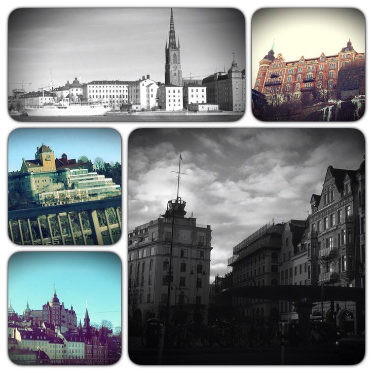 Från Lidingö till Stockholm...