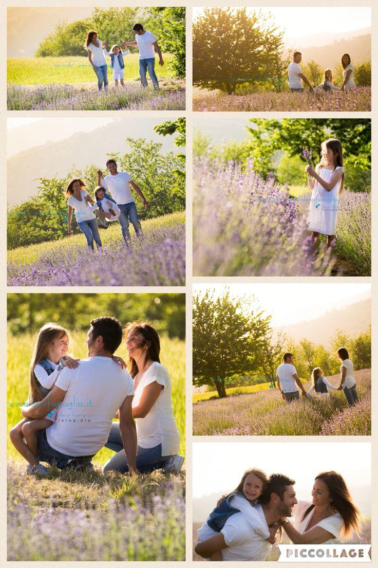 #family #outdoor #lavanda #tramonto #love #mum #dad