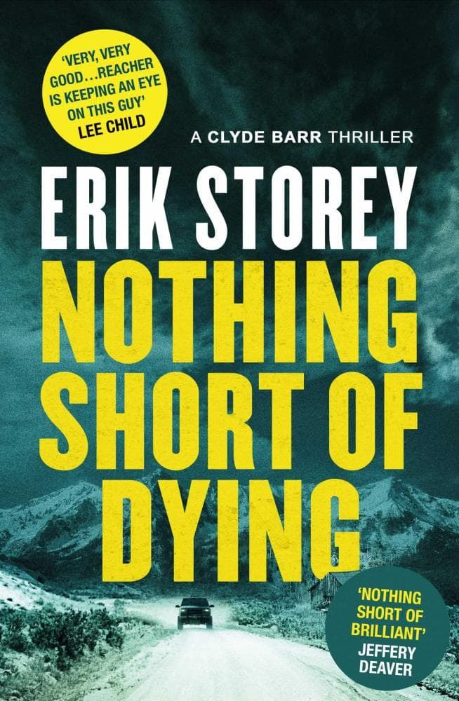 Read about the book: Nothing Short of Dying - 'A drifter with lethal skills…