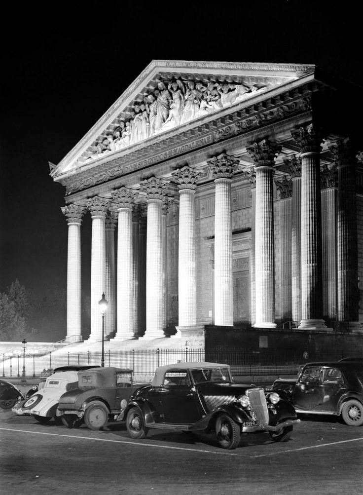 Willem van de Poll Place de la Madeleine - Paris 1935