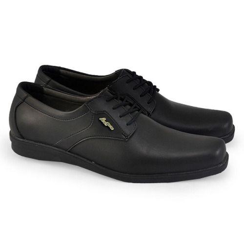 Sepatu Formal Pria Hab 014 Sintetik Hitam 39 43 Rp Sepatu