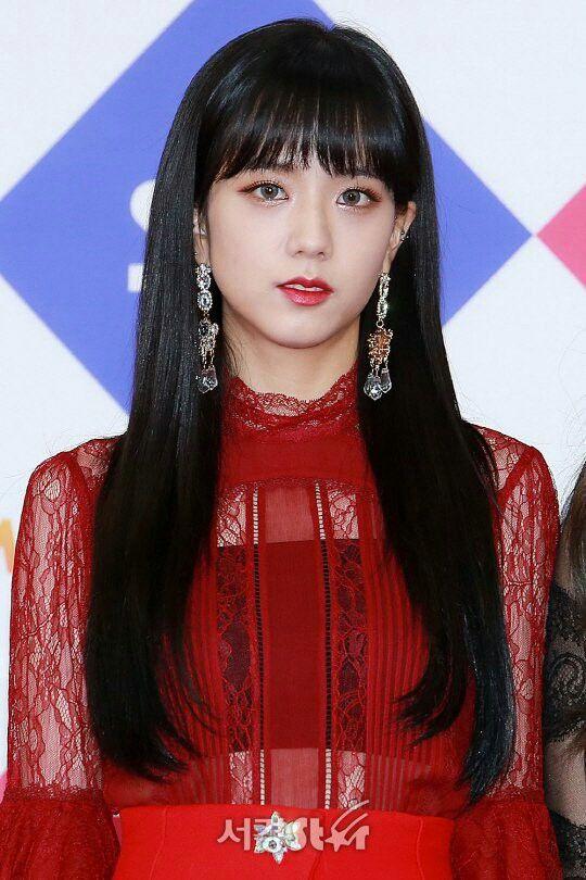 Jisoo-BLACKPINK 171225 SBS Gayo Daejeon 2017