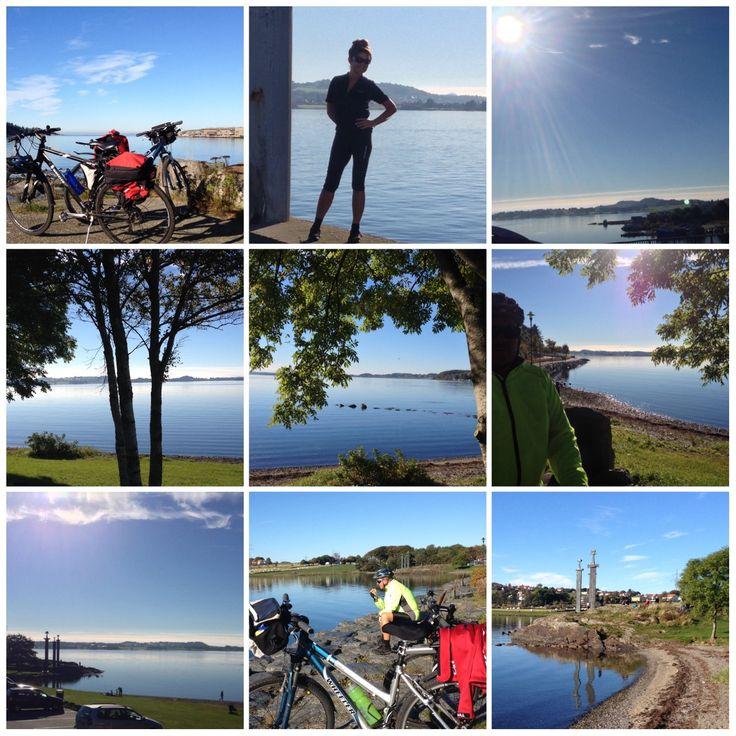 Sunday bike ride around Hafrsfjord