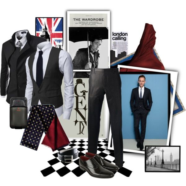 Strolling down a London street by matildaaah on Polyvore featuring Lanvin, TheLees, Loake and Haffke