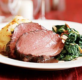 Slow-Roasted Beef Tenderloin with Thyme http://www.finecooking.com/recipes/slow-roasted-beef-tenderloin-thyme.aspx