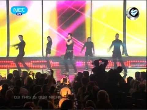 EUROVISION 2009 - Official song - Sakis Rouvas - This is our night - HIG...