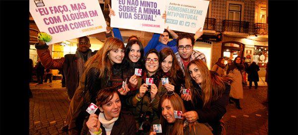 MTV Portugal e Durex saíram à rua para falar sobre sexo