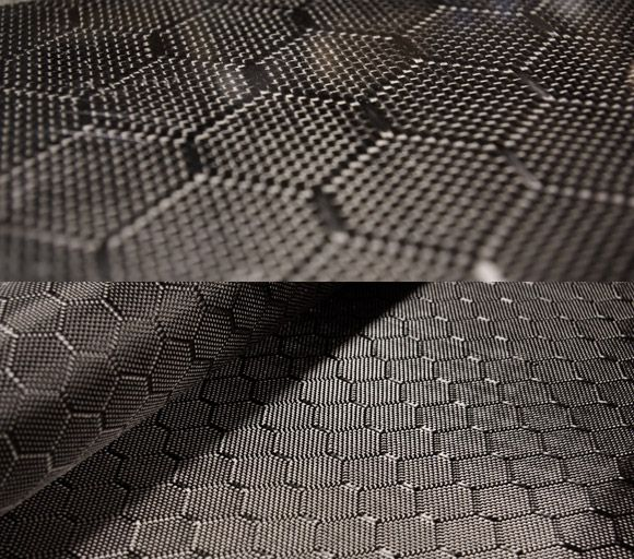 """Carbon """"Wasp"""" pattern"""