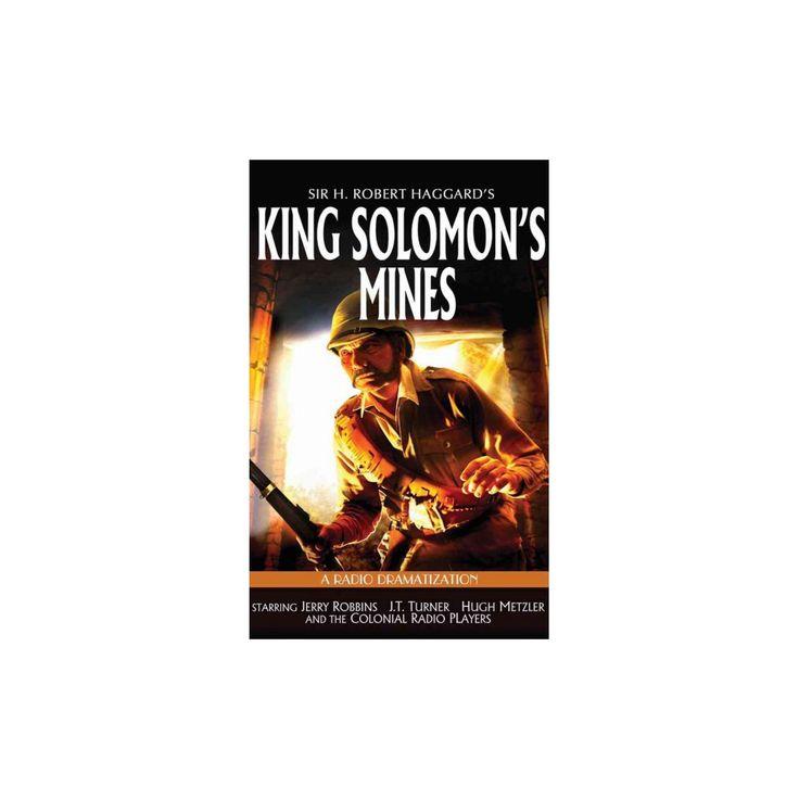 King Solomon's Mines : A Radio Dramatization (MP3-CD) (H. Robert Haggard)