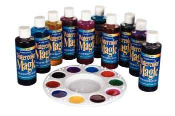 Assorted Magic Water Colours Paint – Set of 10
