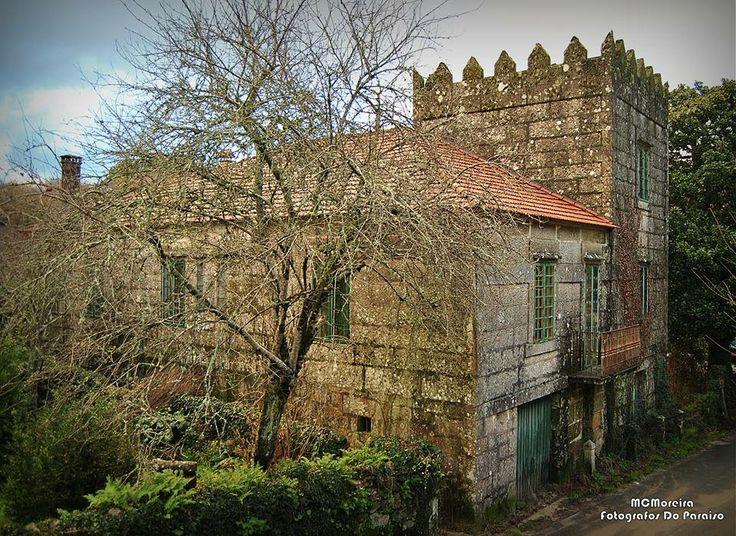 Rebordelo-Cotobade (Pontevedra) Casa do Deán