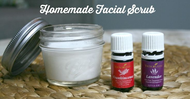 Want a quick facial at home? Exfoliate your skin naturally with this easy DIY facial scrub. This homemade face scrub is soothing and smells amazing.