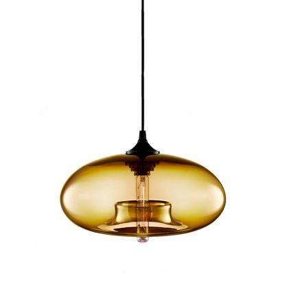 La Rebel Hanglamp Glass Ambers  L'Atelier Rebel - Retro copper 60's hairpin design table   Retro 60's haarpin eettafel tafel - Industrial Chic Living - #tafel #designtafel #eetkamer #wonen #La Rebel #haarpin #hairpin #retro #chic #living #sidetable #copper