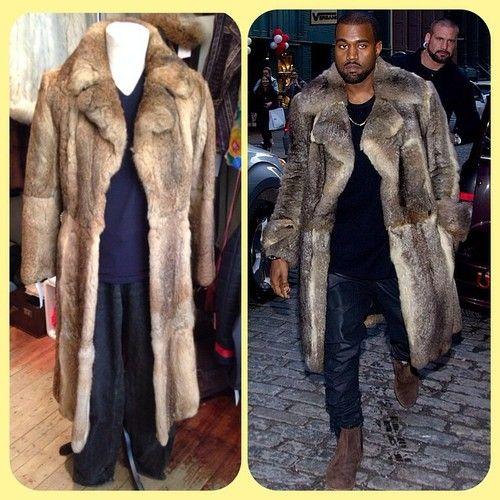 LOVE YOURSELF LIKE KANYE LOVES HIMSELF  rabbit fur coat - £75 • Armani top - size XXL - £20 • levi jeans - 30W 32L - £18 #kanye #kanyewest #kimkardashian #thekardashians #bound2 #mercy #stronger #fur #lookalike #costume #rabbitfur #vintage #dressup #twitter #instagram #internationalselling #glasgow #glasgowwestend #byresroad #costume #swagger #hiphop #rapper
