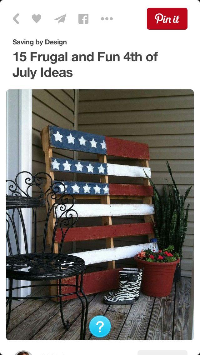 Palette drapeau