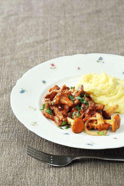 Chanterelle Mushroom Recipes on Pinterest | Mushrooms, Chanterelle ...