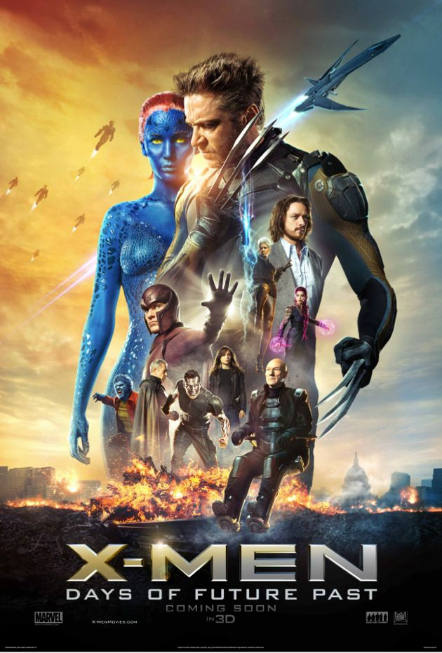 A great movie..Very entertaining and a must watch..:)  #LovedIt #XMen #2014Releases #TimeTravel #Action #Adventure #Mutants