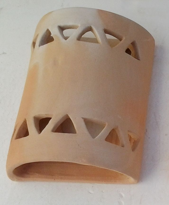 Luminaria Terracota Aplique De Barro Cocido Lamparas De Ceramica Apliques De Exterior Apliques