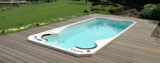 78 best ideas about spa de nage on pinterest spa jacuzzi exterieur piscine - Jacuzzi de nage exterieur ...