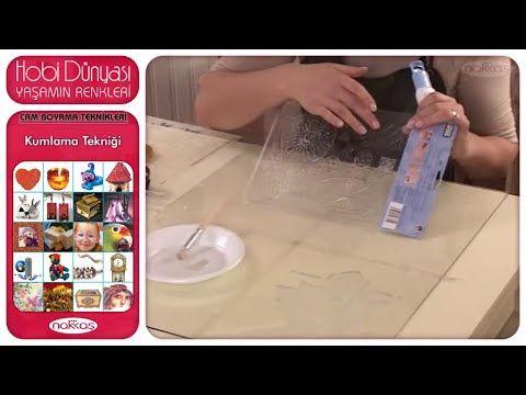 Cam Boyama Teknikleri - Kumlama Tekniği - YouTube