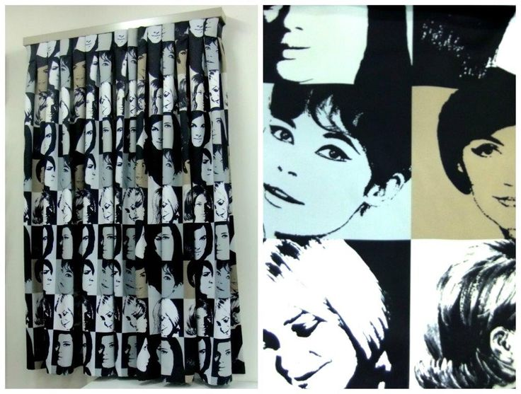 Sawade Store Curtain Display - Nettex Fabric - Montage Black -with Caffe Pearl Maxi Track