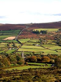 Widicombe-in the-moor, Devon UK is a quaint lovely place to visit.