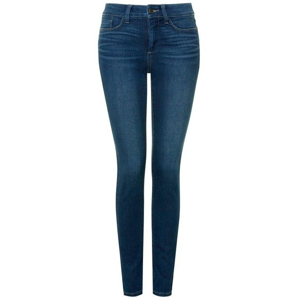 NYDJ Alina Slim Super Stretch Jeans, Echo Valley ($31) ❤ liked on Polyvore featuring jeans, pants, bottoms, skinny jeans, blue jeans, nydj jeans, skinny fit jeans and mid rise skinny jeans