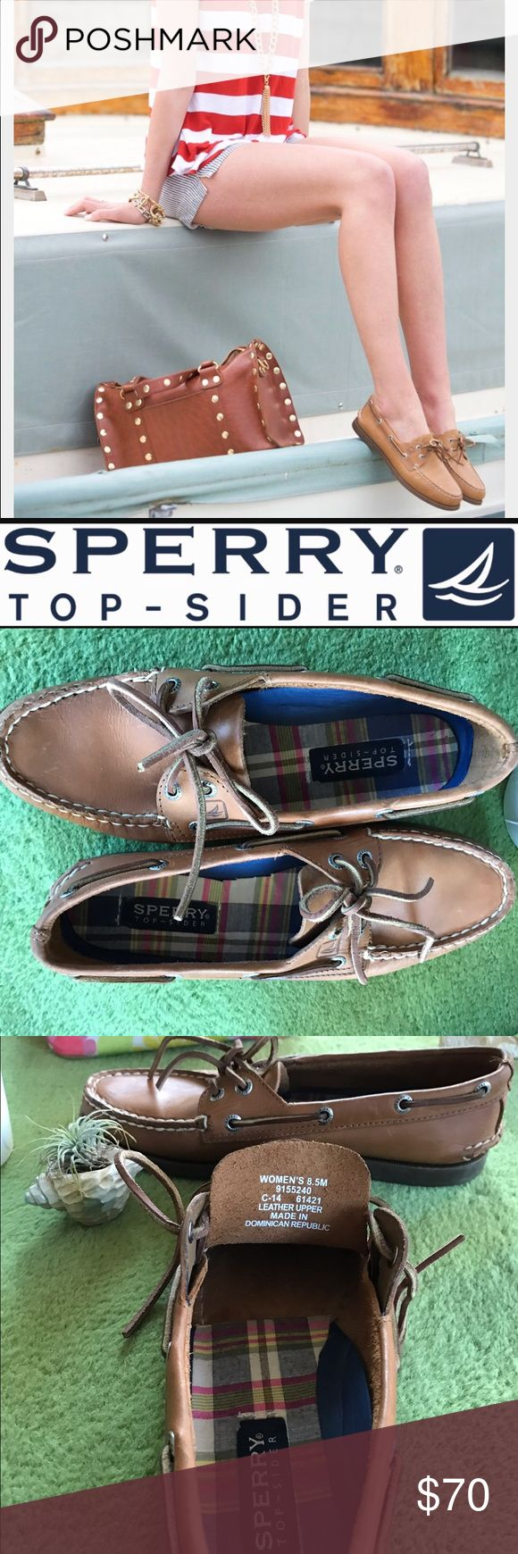 ⚡️Birthday sale! ⚡️SPERRY Classic boat shoe 💋🌺⚓️ Excellent condition Sperry classic boat shoe. See pics for the website description! Open to offers! 💋🌺 Sperry Shoes Flats & Loafers