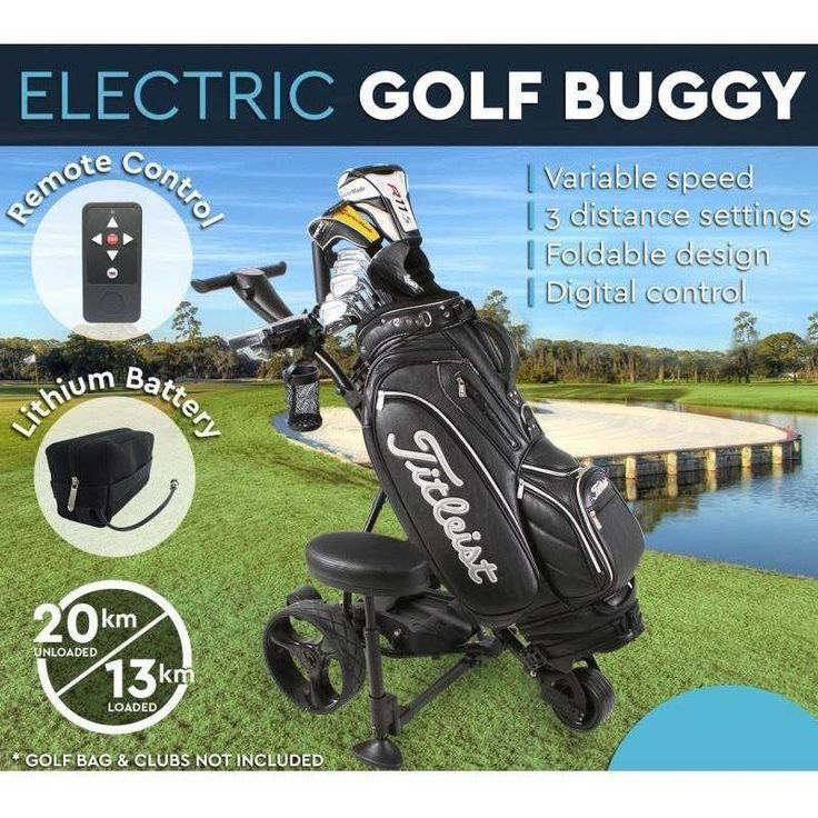 Electric Golf Buggy with Lithium Battery and Remote | Buy Golf Buggies