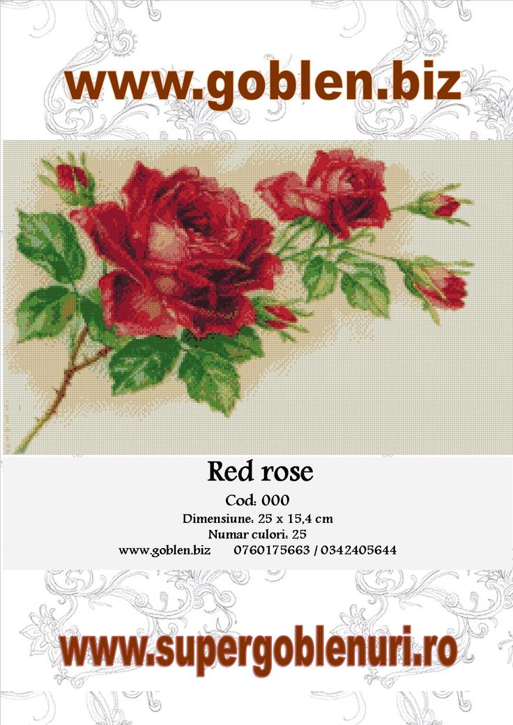 Goblenuri gratuite – Red Rose