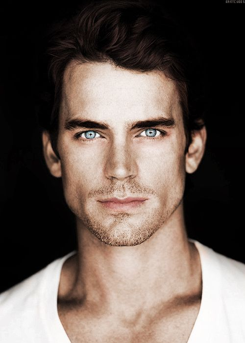 Matt Bomer  I Love the color of his eyes.