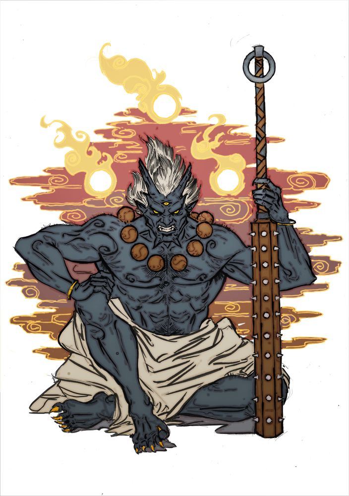 Oni by YamaOrce.deviantart.com on @DeviantArt